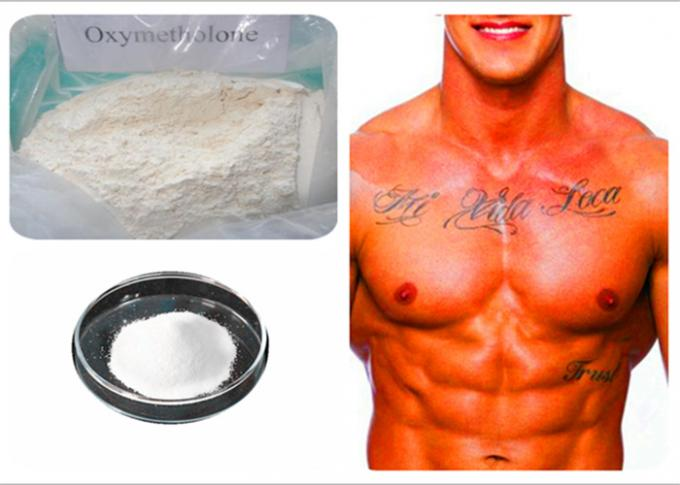 Oral Steroid Powder Anadrol Oxymetholone For Fat Loss CAS 434-07-1