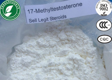 China High Purity Steroid 17-Alpha-Methyl Testosterone CAS 58-18-4 For Muscle Gain factory